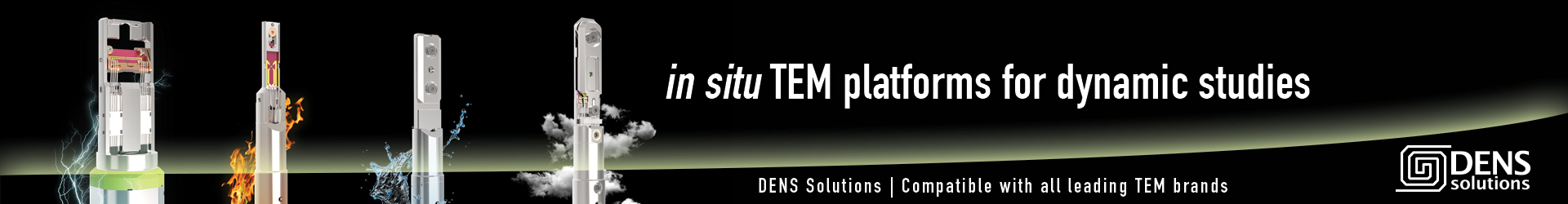 DENS Solutions in situ TEM platforms