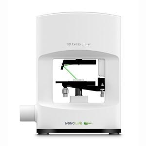 Nanolive logo 3D cell explorer