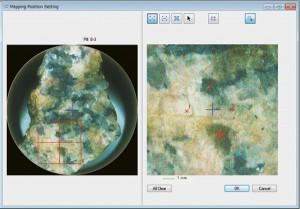 Rigaku ZSX Primus IV WDXRF mapping position setting